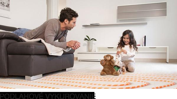 Flexibilita a pohodlie vďaka podlahovému vykurovaniu