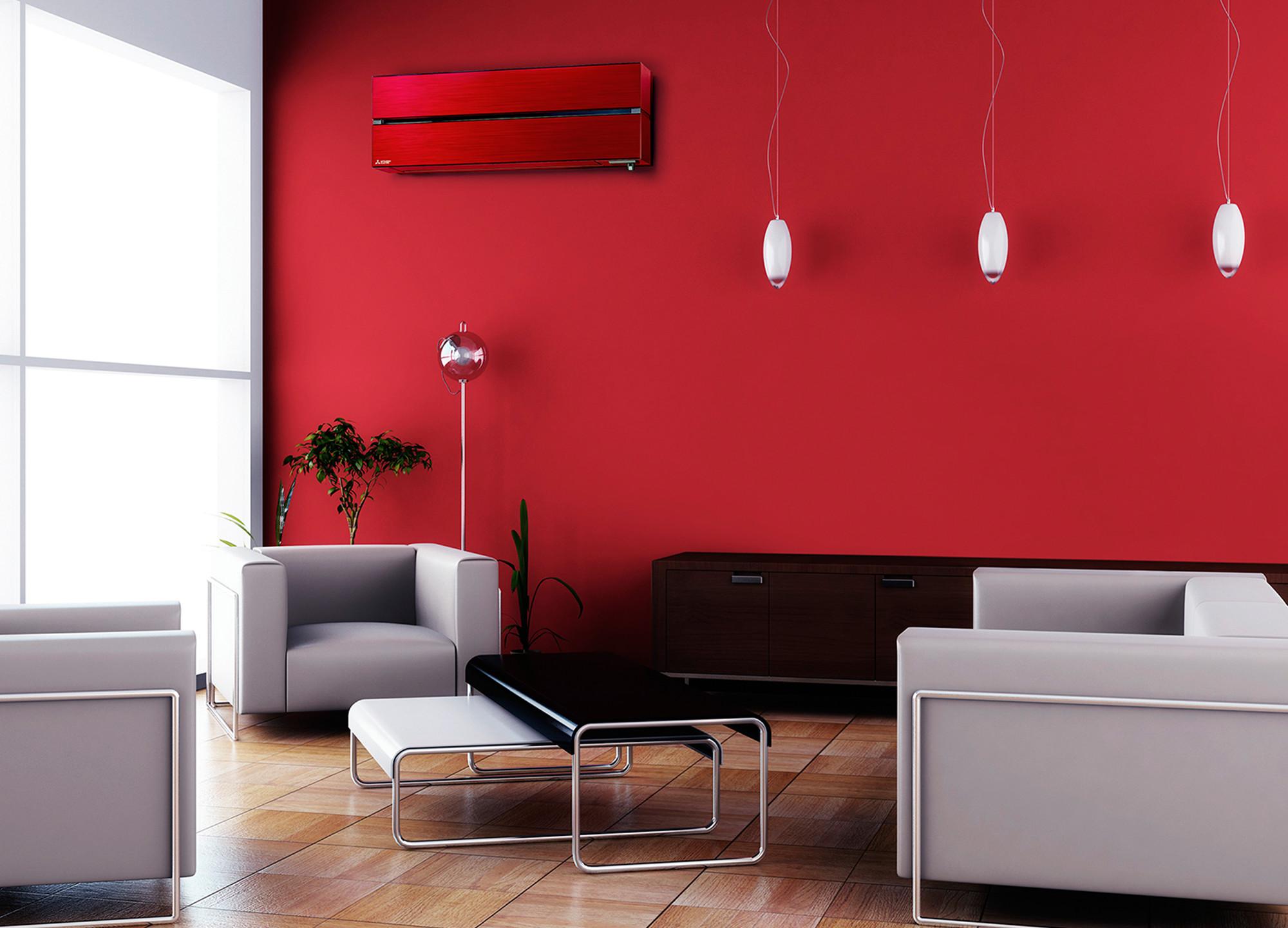 MITSUBISHI Nástenná dizajnová klimatizácia - MSZ-LN